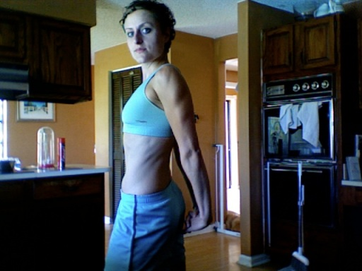 Starving for a fitness model body