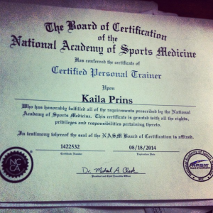 NASM, National Academy of Sports Medicine, Personal Trainer, Certification, Recertification