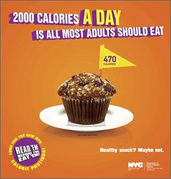 How many calories per day for the average US adult